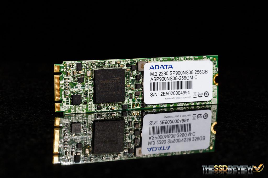 ADATA SP900 M.2 2280 256GB Angle 2