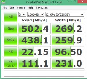 ADATA SP900NS38 256GB CDM