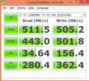 Crucial MX200 1TB CDM