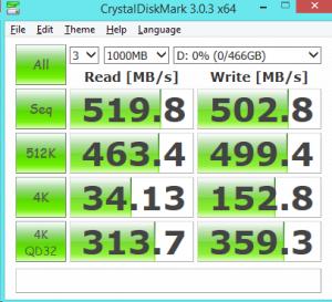 Crucial MX200 500GB CDM