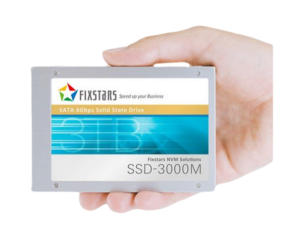 Fixstars SSD with hand