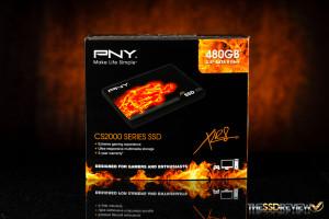 PNY CS2111 XLR8 480GB Box Front