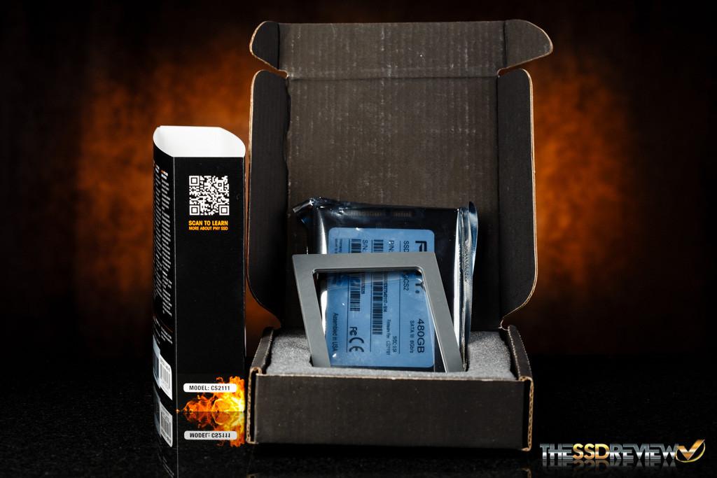 PNY CS2111 XLR8 480GB Inside Box