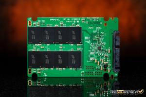 PNY CS2111 XLR8 480GB PCB Back