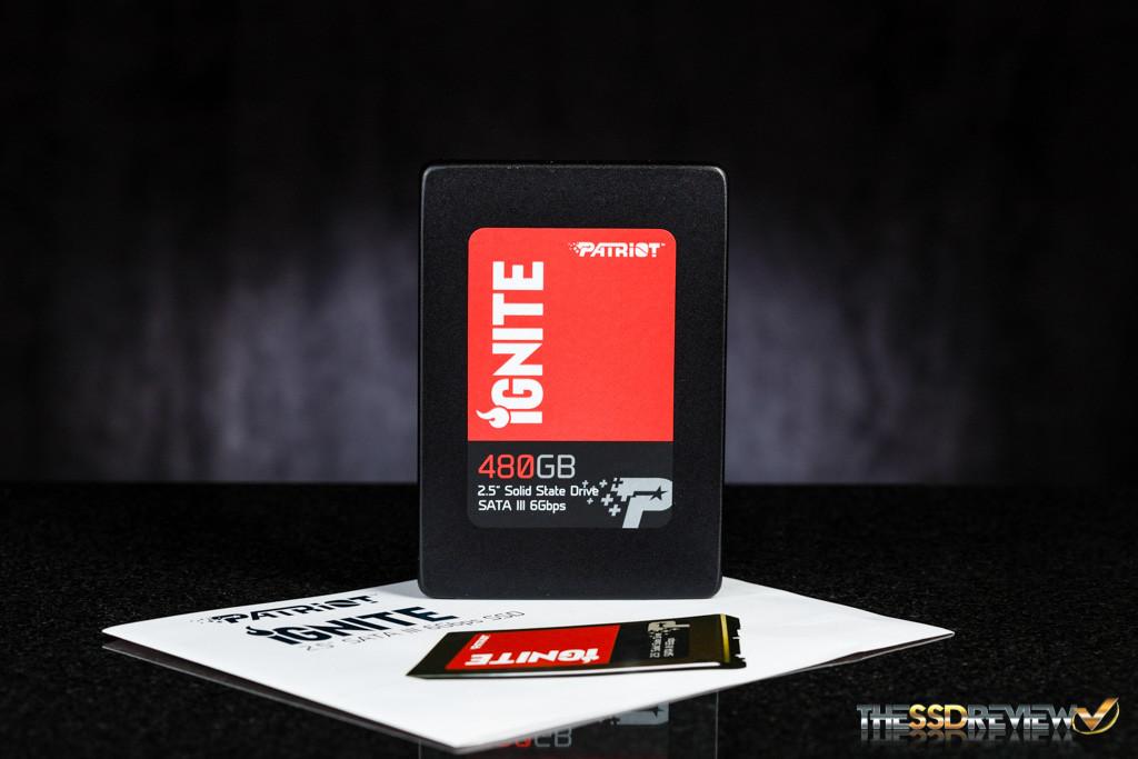 Patriot Ignite 480GB Accessories