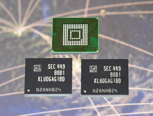 Samsung 128Gb smartphone memory