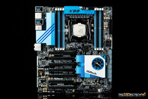 ASRock X99 WS-E Motherboard Front