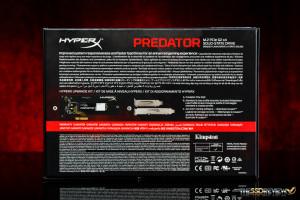 Kingston HyperX Predator 480GB Packaging Back
