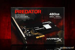 Kingston HyperX Predator 480GB Packaging Front