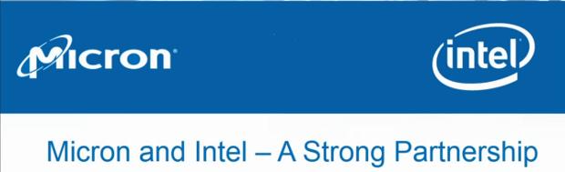Micron 3d NAND Intel partnership