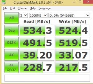 500GB Eluktro Pro Performance CDM 0FILL