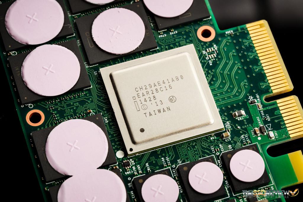 Intel 750 1.2TB NVMe Controller