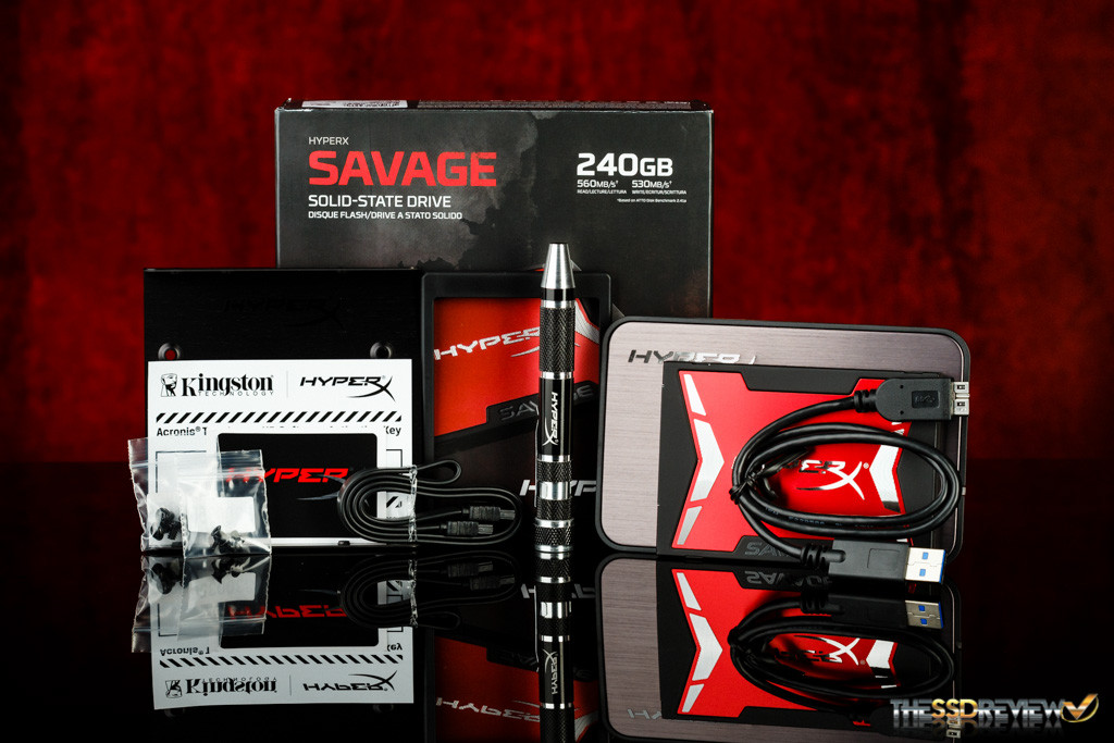 Kingston HyperX Savage 240GB Accessories