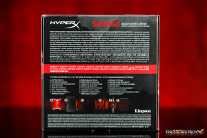 Kingston HyperX Savage 240GB Package Back