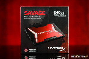 Kingston HyperX Savage 240GB Package Front