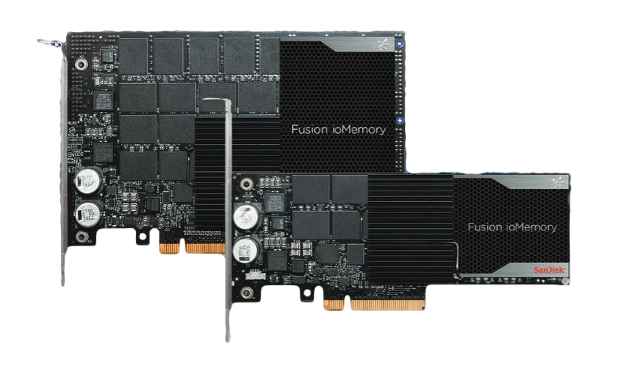 SanDisk Fusion ioMemory pair
