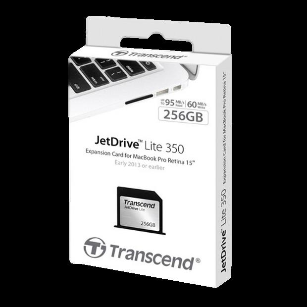 Transcend jetdrive lite 256GB pkg