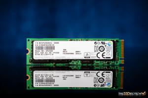 Samsung SM951 M.2 PCIe NVMe 256GB Front