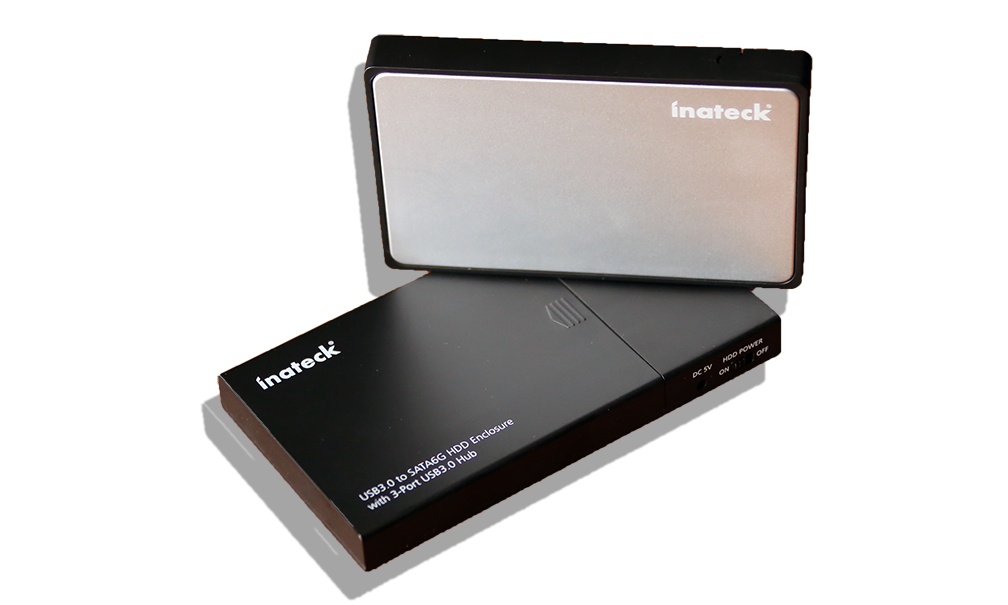 Inateck FE2005 and FE2007 External USP 3.0 UASP Enclosures