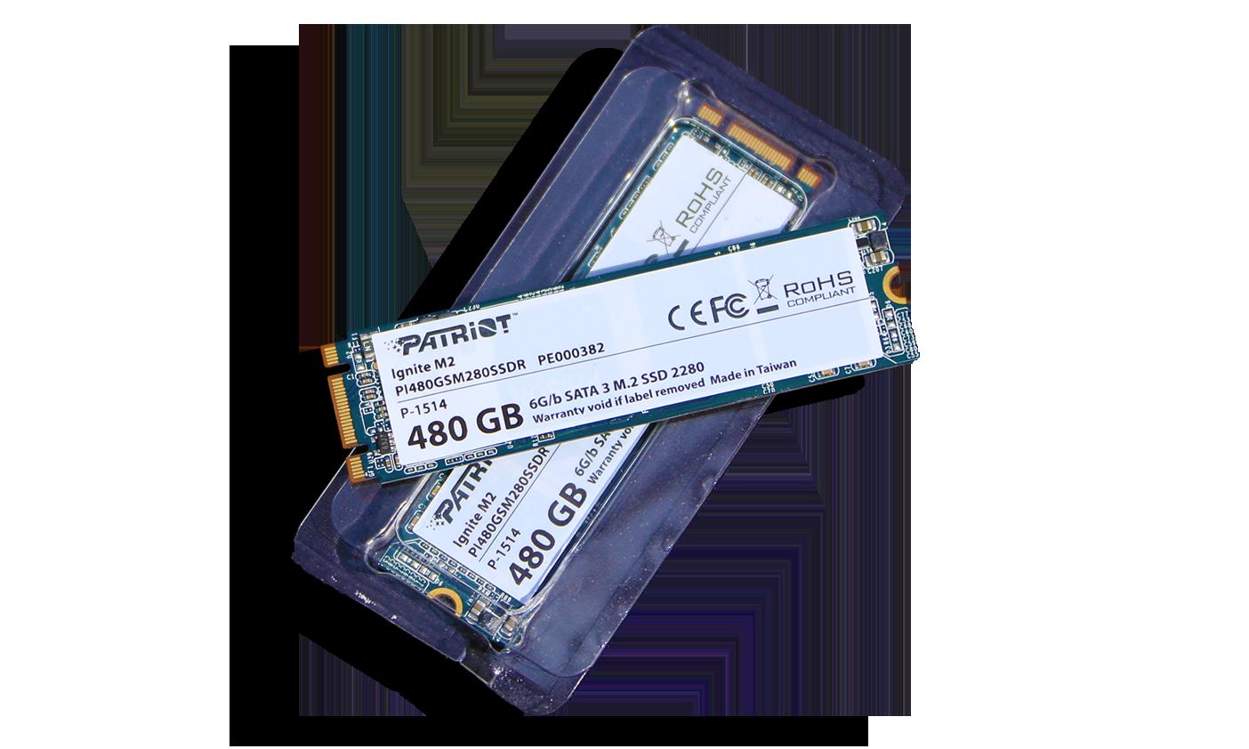 Patriot Ignite M2 SSD Closer