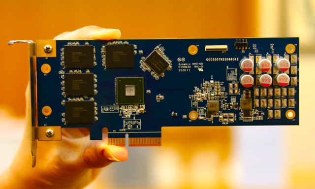 Phison PCIe SSD Card1