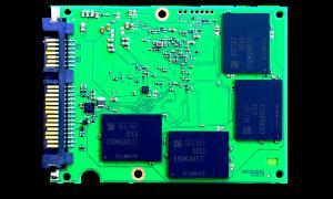Samsung EVO 2TB SSD PCB Back