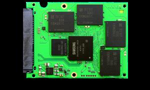 Samsung EVO 2TB SSD PCB Front