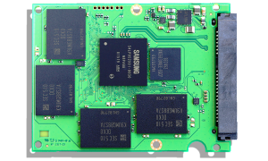 Samsung Pro 2TB SSD PCB Front
