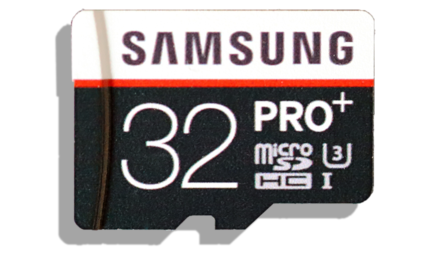 Samsung Pro Plus 32GB mSDHC Card Front
