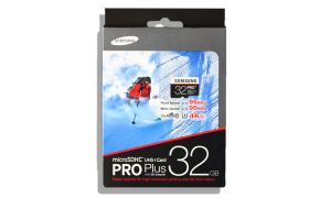 Samsung Pro Plus 32GB mSDHC Card Package Front