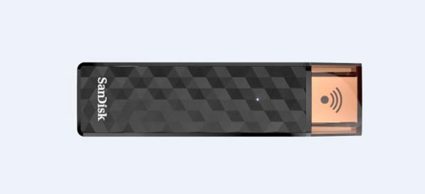 SanDisk Wireless Connect Stick horizontal
