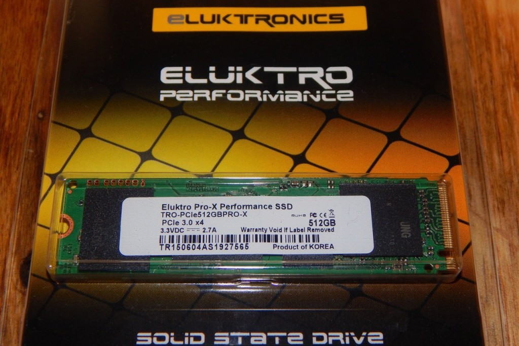 Eluktro Pro-X Performance 512GB Amazon