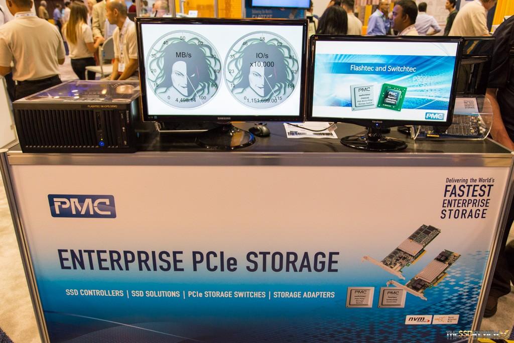 PMC Flashtec 1 million IOPS