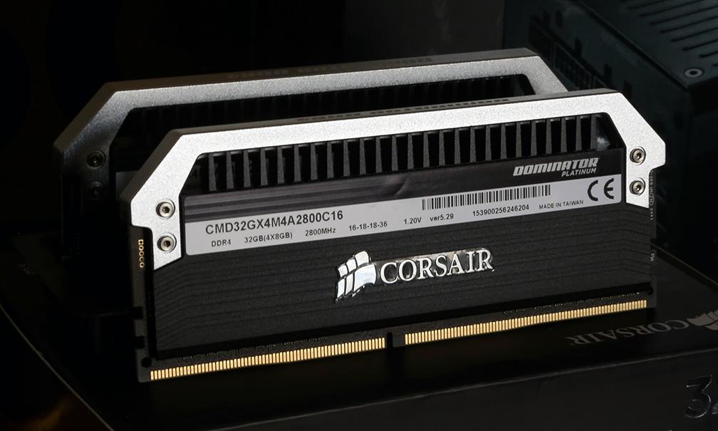 Corsair DDR4 Dominator Platinum 32GB Memory