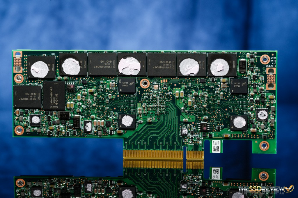 Intel SSD DC P3608 1.6TB PCB Back