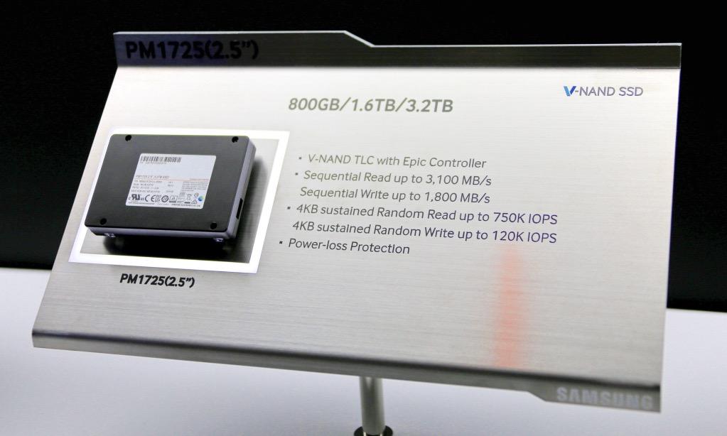 Samsung PM1725 2.5 NVMe SSD 2