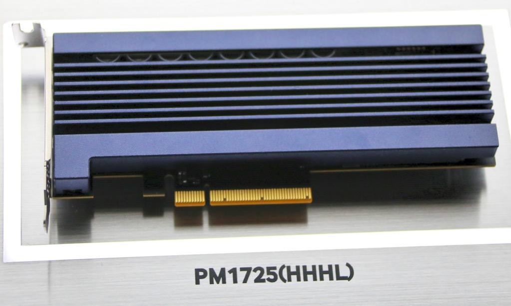 Samsung PM1725 NVMe SSD