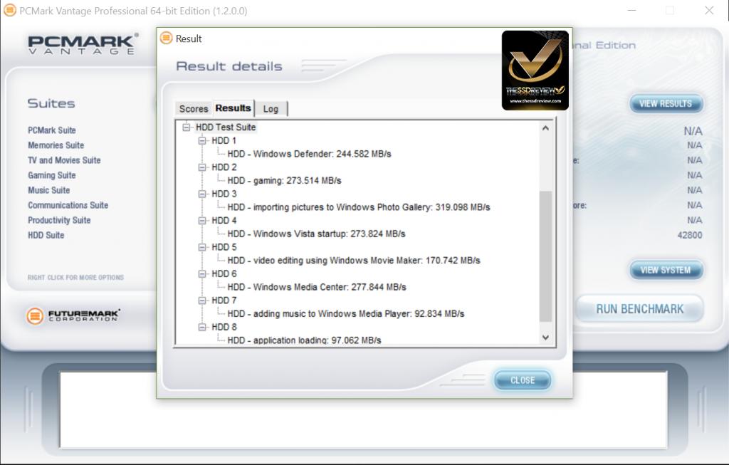 NovaChips 8TB SSD PCMark Vantage WM