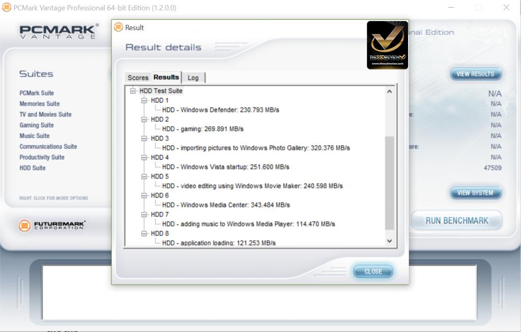 NovaChips Scalar Series 4TB NS370 SATA 3 SSD PCMark Vantage WM
