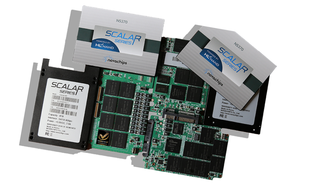 Novachips Scalar 4TB 8TB SSD Disassembled WM