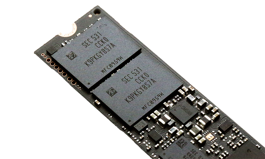 Samsung 950 Pro NVMe M2 SSD Memory 2
