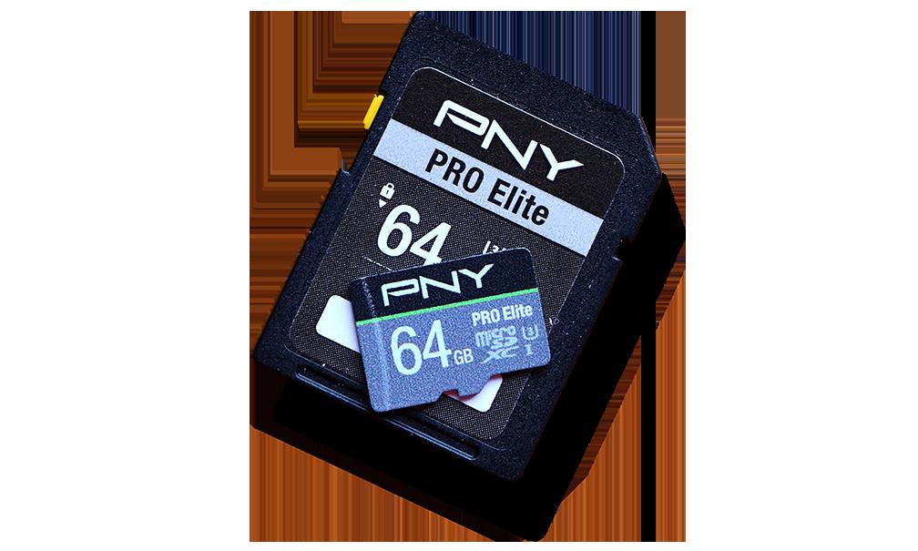 PNY Pro Elite SDXC 64GB SDXC and microSDXC Cards