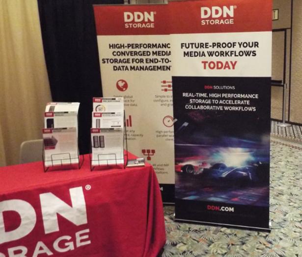 DDN Storage booth