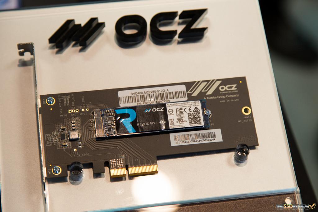 OCZ RevoDrive 400 CES 2016