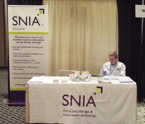 SNIA booth