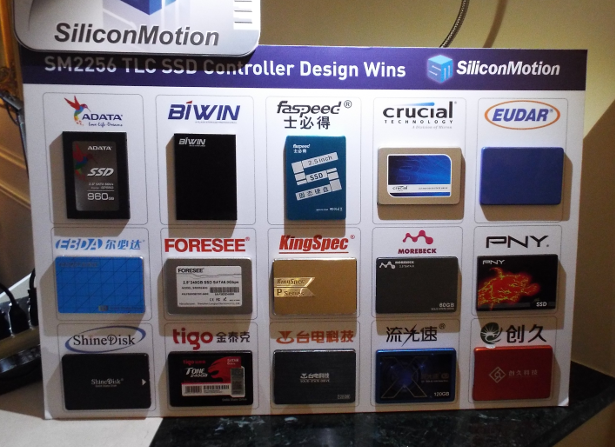 Silicon Motion various OEMs display