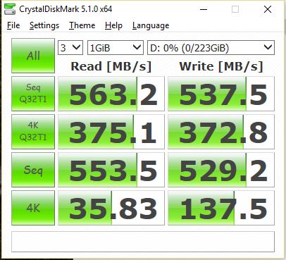 OCZ Trion 150 240GB SSD CDM
