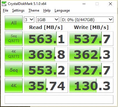 OCZ Trion 150 480GB SSD CDM