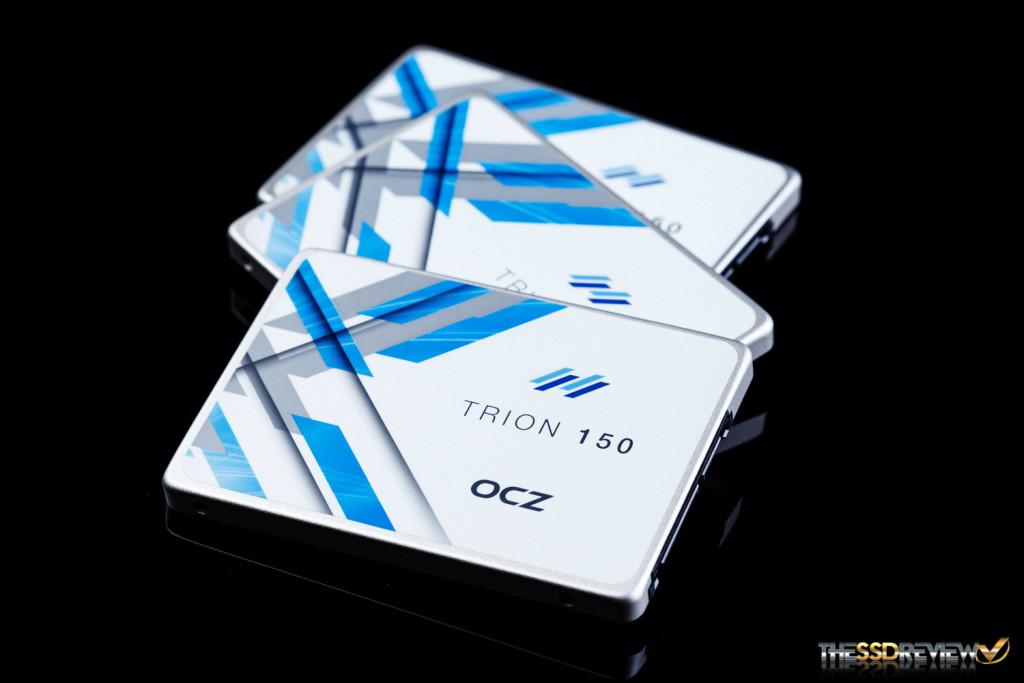 OCZ Trion 150 SSD Angled