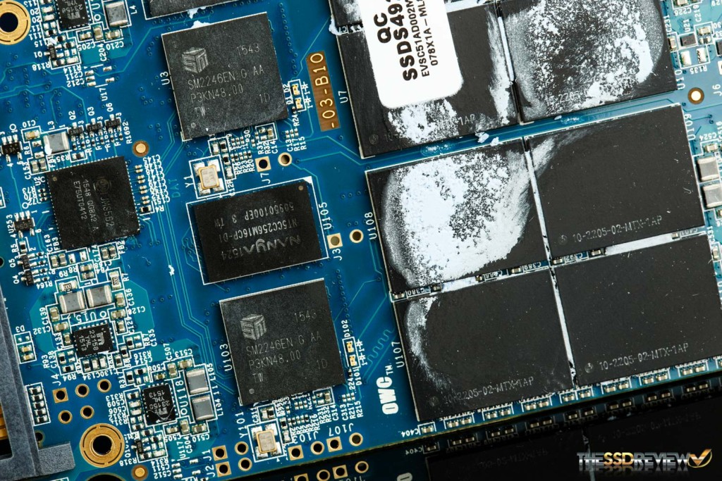 OWC Mercury Electra 6G MAX 2TB SSD Controllers, NAND, DRAM